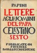 Lettere agli uomini del Papa Celestino Sesto