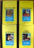 Lotto 4 libri I maestri del giallo: Toby Peters alle corde - Delitto a Villa Rosa  Maigret e il caso Saint-Fiacre - I delitti del chiodo cinese