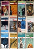 Angelica romanzi e realtà - rosa storici eros lotto libri stock SERIE COMPLETA