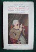 La critica letteraria nel '700 - Giuseppe Baretti. Suoi rapporti con Voltaire, Johnson e Parini