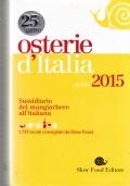 Osterie d'Italia - Sussidiario del mangiarbere all'italiana 2015