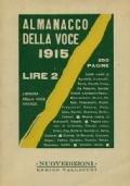 ALMANACCO DELLA VOCE 1915