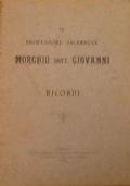 IL PROFESSORE SACERDOTE MORCHIO DOTT. GIOVANNI. RICORDI