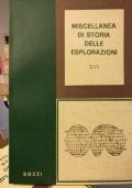 Miscellanea di storia delle esplorazioni XVI