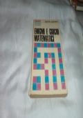 LIBRO ENIGMI E GIOCHI MATEMATICI MARTIN GARDNER SANSONI 1972