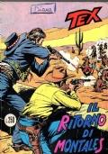 TEX Il ritorno di Montales n. 137 marzo 1972