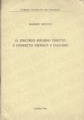 IL DISCORSO RIFLESSO DIRETTO E INDIRETTO TEDESCO E ITALIANO