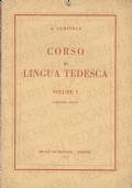 CORSO DI LINGUA TEDESCA - VOLUME I