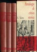A. SAITTA - ANTOLOGIA DI CRITICA STORICA - 3 VOL CON COFANETTO - LATERZA 1975