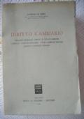 DIRITTO CAMBIARIO
