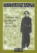 Simine Weil testimone mistica della storia - rivista Testimonianze n.468/469