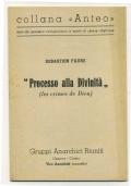 PROCESSO ALLA DIVINITA' (LES CRIMES DE DIEU)