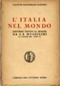 L'ITALIA NEL MONDO. DISCORSO TENUTO AL SENATO IL 5 GIUGNO 1928