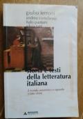 Storia e testi della letteratura italiana 1: dalle origini al 1300