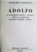 Adolfo [e altri scritti]