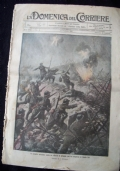 LA DOMENICA DEL CORRIERE N. 36 3-10 NOVEMBRE 1916 Il Re d'Italia visita Gorizia italiana