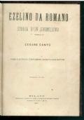 Ezelino da Romano. Storia di un ghibellino.