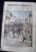 LA DOMENICA DEL CORRIERE N. 46 12-19 NOVEMBRE 1916 NELLA ZONA DI GORIZIA.....FURONO CONQUISTATI ESTESI TRINCERAMENTI SULLE PENDICI .