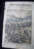 LA DOMENICA DEL CORRIERE N. 48 26 NOVEMBRE-8 DICEMBRE 1916 Dopo l'ultima offensiva sul Carso: il recupero dei cannoni abbandonati dgli austriaci nelle doline.
