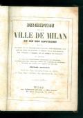 DESCRIPTION DE LA VILLE DE MILAN ET SES ENVIRONS