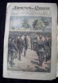 LA DOMENICA DEL CORRIERE N. 44 29 OTTOBRE - 5 NOVEMBRE 1916 Nella mattinata di ieri l'avversario riuscì ad irrompere nella ridotta  del Dente (Pasubio), tosto ributtato con un corpo a corpo...