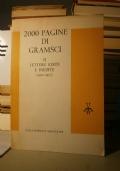 2000 pagine di gramsci volume 2° lettere edite e inedite