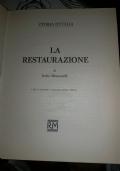 STORIA D'ITALIA LA RESTAURAZIONE