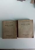 Jane Eyre volume primo e secondo   prima edizione