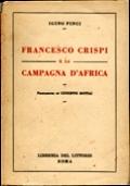 FRANCESCO CRISPI E LA CAMPAGNA D'AFRICA