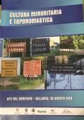 Cultura minoritaria e toponomastica