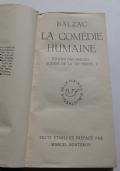 HONORÈ DE BALZAC - LA COMÉDIE HUMAINE I