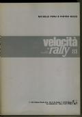 VELOCITA' RALLY 1981