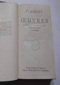 GUSTAVE FLAUBERT - ŒUVRES COMPLÈTES I