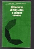 Dizionario di filosofia e scienze umane