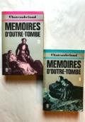 Memoires d'Outre-Tombe I/II 2 VOL.