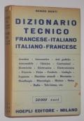 DIZIONARIO TECNICO FRANCESE-ITALIANO ITALIANO-FRANCESE