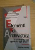Elementi di archivistica e di informatica applicata agli archivi