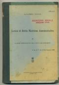 LEZIONI DI DIRITTO MARITTIMO AMMINISTRATIVO. IV. IL REGIME AMMINISTRATIVO DELLA NAVE E DELL'ARMAMENTO