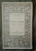Pagine sparse  contributi alla sua biografia e supplemento alla sua bibliografia.A cura di Benedetto Croce