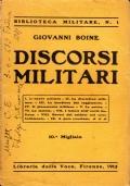DISCORSI MILITARI