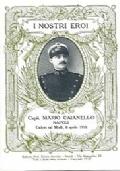 SERIE CARTOLINA DEGLI EROI: CAPITANO MARIO CAIANELLO DI NAPOLI (CADUTO SUL MRZLI IL 8 APRILE 1916)