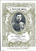 SERIE CARTOLINA DEGLI EROI: SOTTOTENENTE ALFREDO TONESI DI SALERNO (CADUTO SUL PODGORA IL 10 GIUGNO 1915)