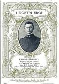 SERIE CARTOLINA DEGLI EROI: CAPITANO ERCOLE FERRARIO DA CARDANO AL CAMPO (CADUTO SUL GRAFFEMBERG IL 6 AGOSTO 1916)