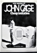 John Cage Cheap Imitation [libretto +CD]