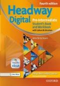 Headway Digital Pre-Intermediate SB + WB