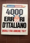 4000 errori d'italiano
