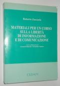Materiali per un corso sulla libertà di informazione e di comunicazione