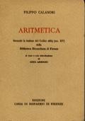 ARITMETICA. SECONDO LA LEZIONE DEL CODICE 2669 (SEC. XV) DELLA BIBLIOTECA RICCARDIANA DI FIRENZE