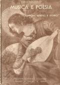 Musica e poesia: rapporti estetici e storici (MUSICA E LETTERATURA – CARLO CULCASI)