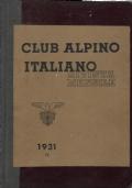 RIVISTA MENSILE DEL CAI SEZIONE DI MILANO ANNATA 1931